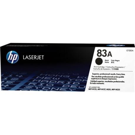 TONER HP 83A - TONER HP CF283A - ORIGINAL BLACK 1.500 PAGINAS