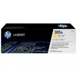 TONER HP 305A - TONER HP CE412A - ORIGINAL YELLOW 2.600 PAGINAS